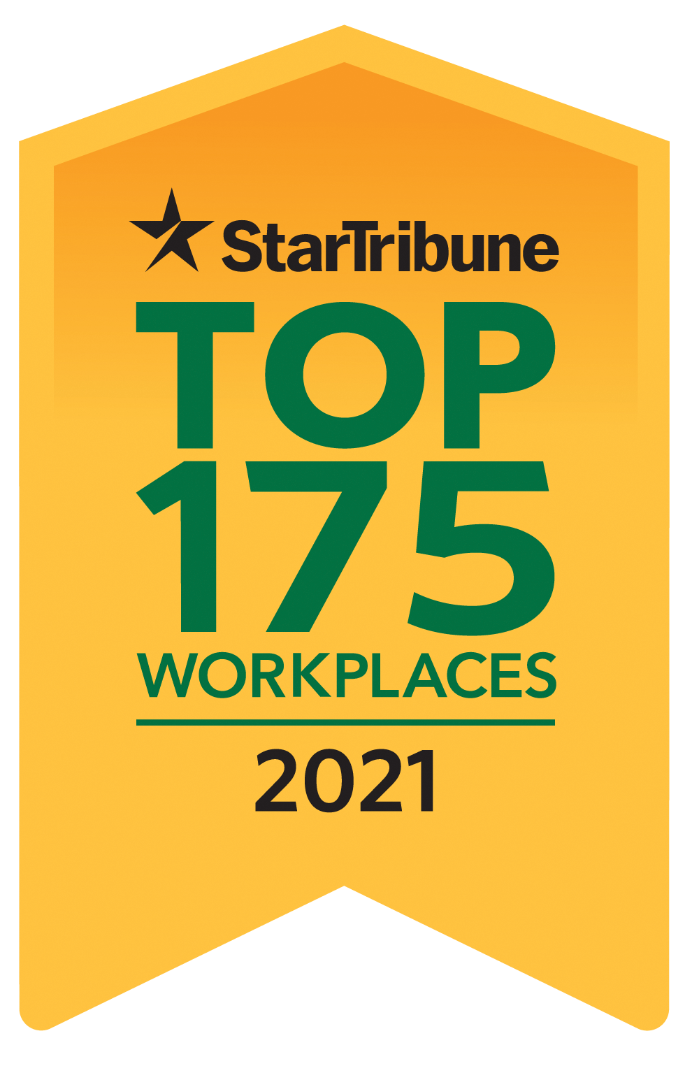 Top 175 Workplace 2021 Logo