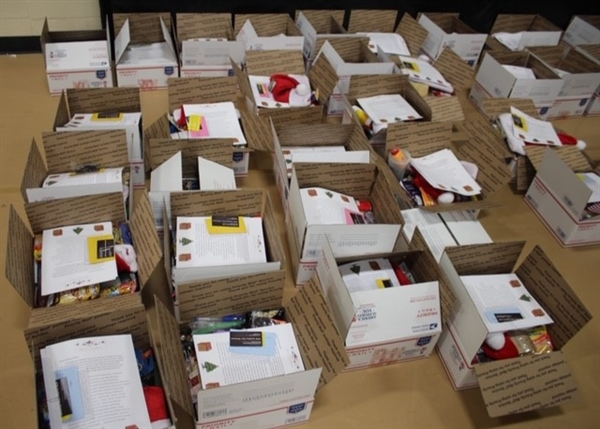 Holiday care packages for troops overseas