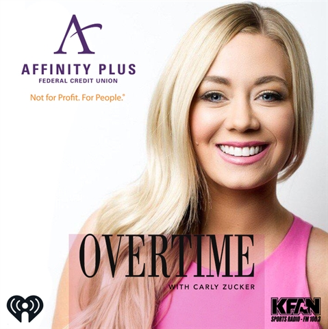 Affinity Plus sponsors Overtime with Carly Zucker