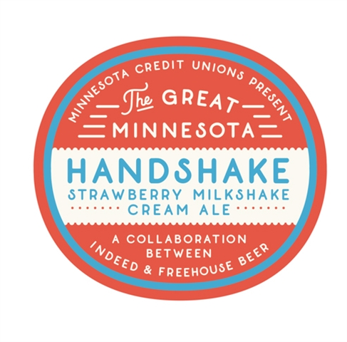 The Great MN Handshake badge