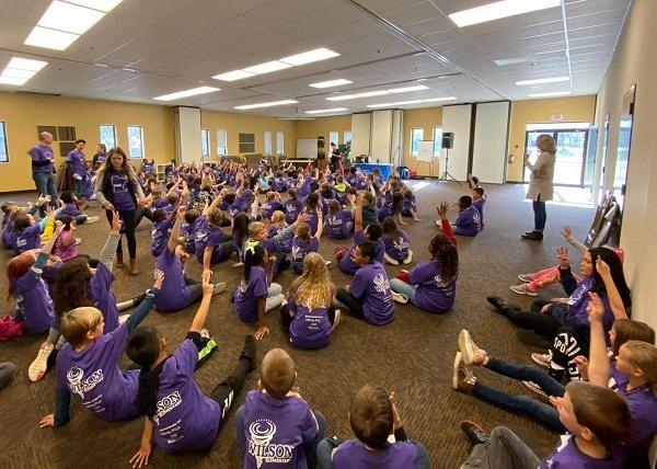 Kindness retreat for Wilson Elementary School