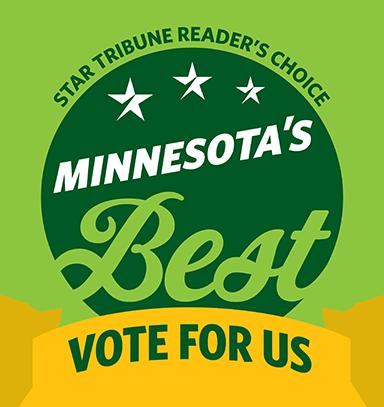 StarTribune Reader's Choice Minnesota's Best Vote for Us Badge